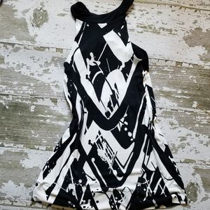 Express summer mini dress top